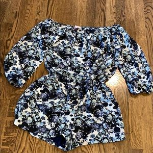 Love...Ady off Shoulder romper, probably small